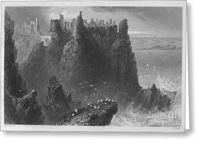 Ireland: Dunluce Castle Greeting Card by Granger
