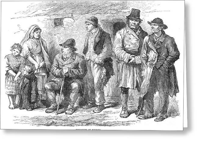 Ireland: Kildare, 1870 Greeting Card