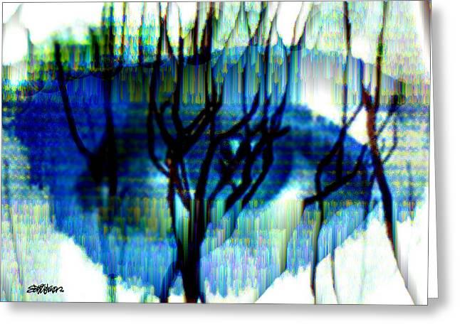 Iris Greeting Card by Seth Weaver
