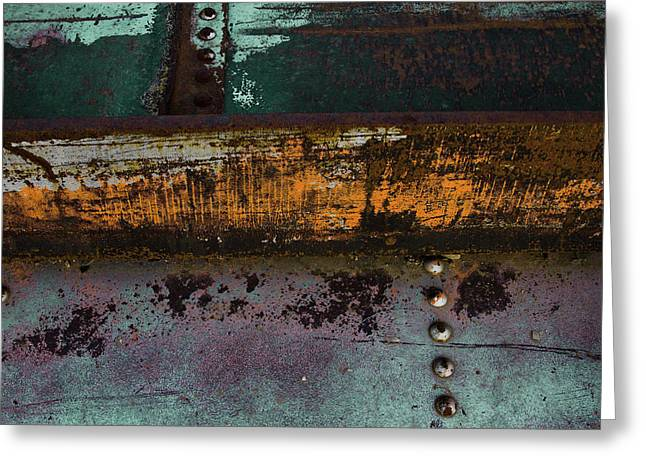 Iron And Rust Greeting Card
