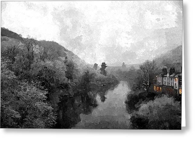 Ironbridge Winter Greeting Card