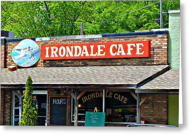 Irondale Cafe  Greeting Card