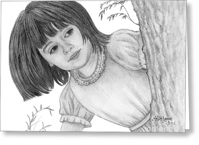 Is It Alice Greeting Card by Audra D Lemke