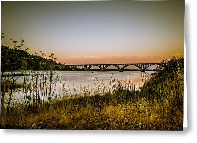 Greeting Card featuring the photograph Isaac Lee Patterson Bridge by Randy Wood
