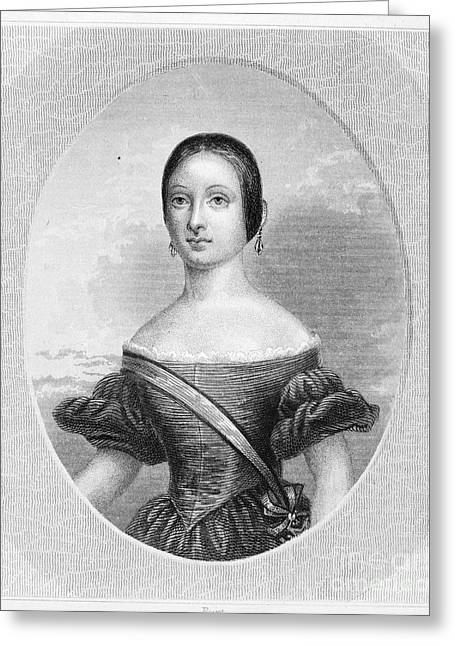 Isabella II Of Spain Greeting Card by Granger