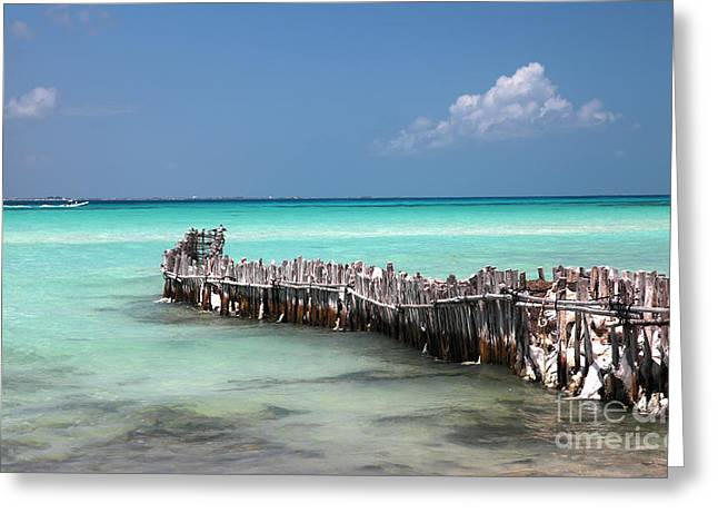 Isla Mujeres Greeting Card