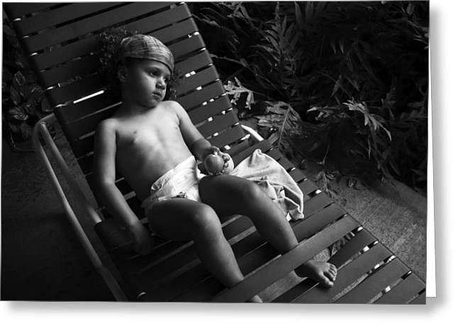 Greeting Card featuring the photograph Island Dreamgirl by Lennie Green