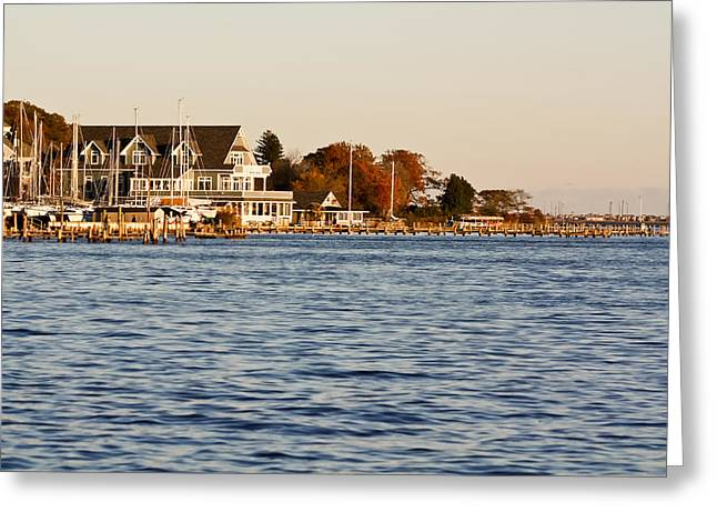 Greeting Card featuring the photograph Island Heights by Ann Murphy