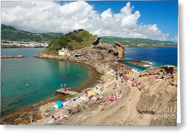 Islet In The Azores Greeting Card