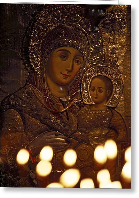 Israel, Bethlehem, Israel-church Greeting Card