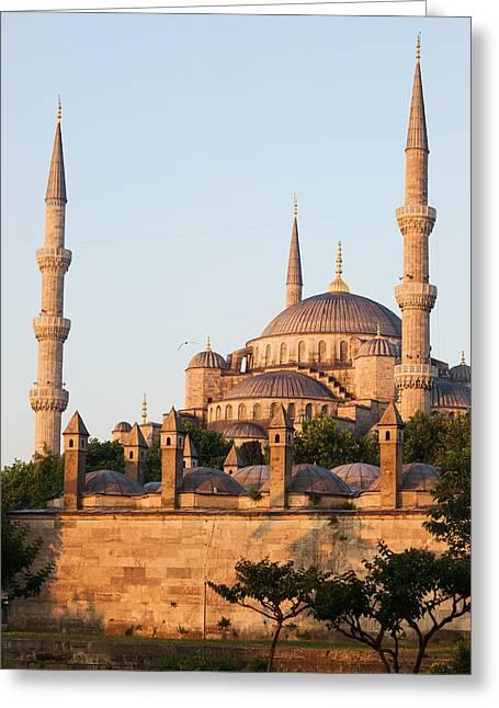Istanbul Greeting Card by Artur Bogacki