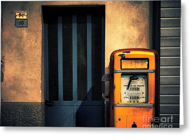 Italian Gasoline Greeting Card