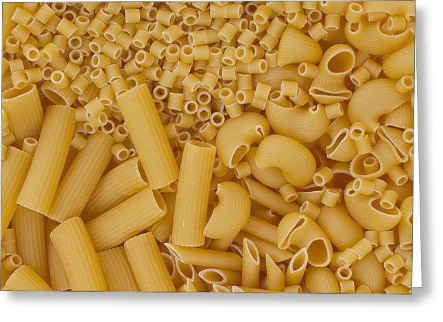 Italian Pasta Greeting Card by Alessandro Matarazzo