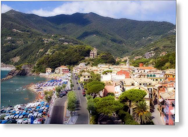 Greeting Card featuring the photograph Italian Riviera by Rod Jones