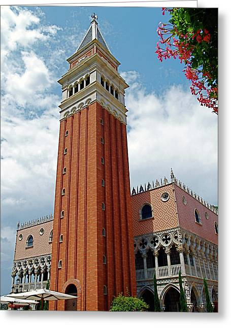 Italy In Orlando Greeting Card
