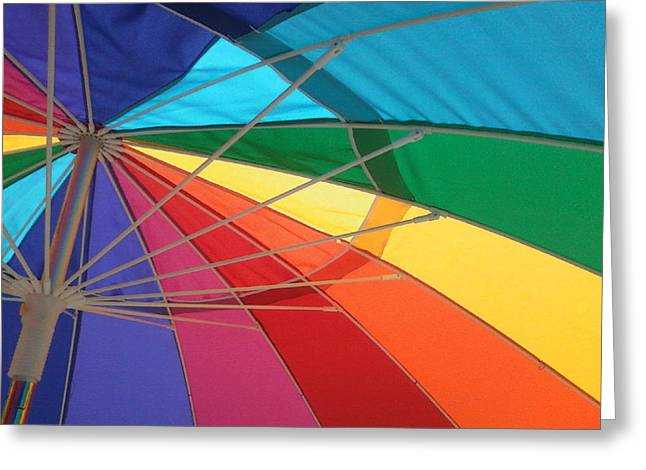 Greeting Card featuring the photograph It's A Rainbow by David Pantuso