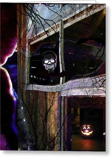 It's The Night When... Greeting Card by Shirley Sirois