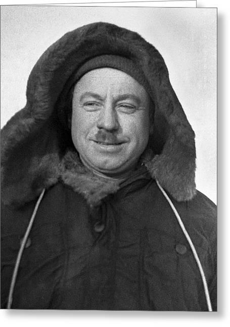 Ivan Papanin, Soviet Arctic Explorer Greeting Card