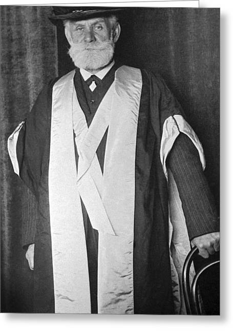 Ivan Pavlov, Russian Physiologist Greeting Card