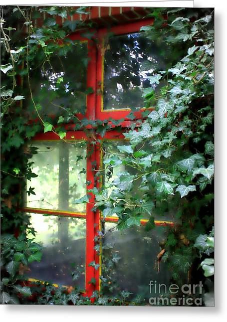 Ivy Embrace Greeting Card by Carol Groenen