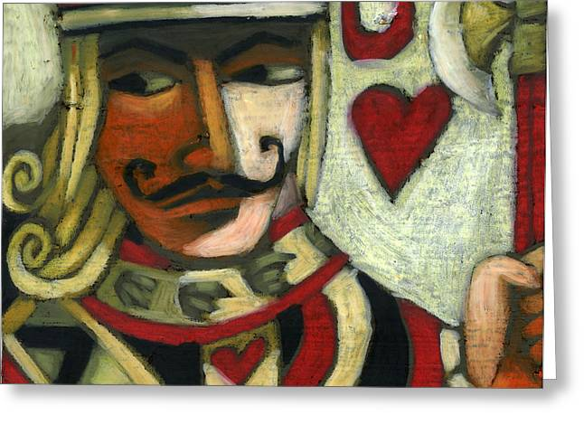 Jack Of Hearts Greeting Card by Erik Pearson