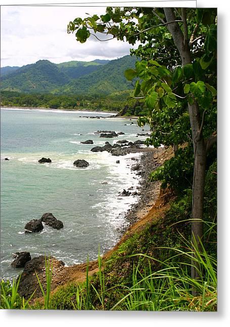 Costa rica landscape greeting cards page 4 of 44 fine art america jaco pacific coast costa rica greeting card m4hsunfo
