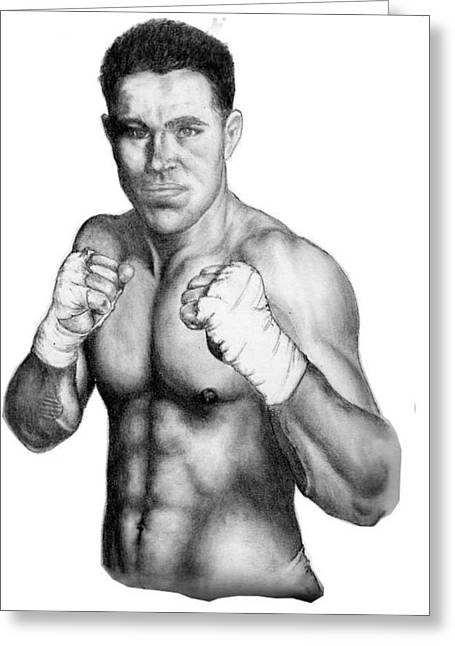 Jake Shields Greeting Card by Audrey Snead