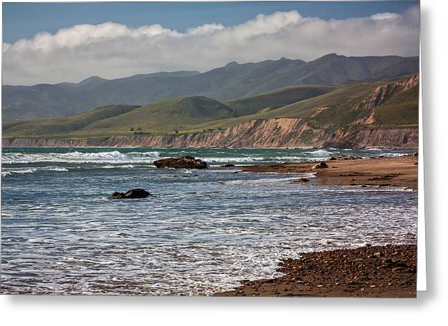 Jalama Beach Greeting Card by Ken Wolter