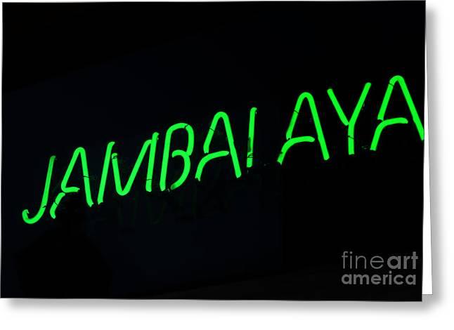 Greeting Card featuring the photograph Jambalaya by Leslie Leda