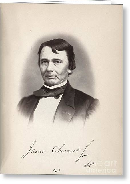 James Chesnut (1815-1885) Greeting Card by Granger