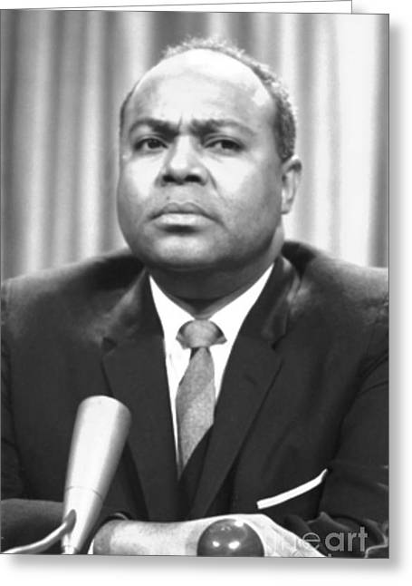James Farmer (1920-1999) Greeting Card by Granger