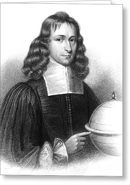 James Gregory, Scottish Mathematician Greeting Card by Science Source