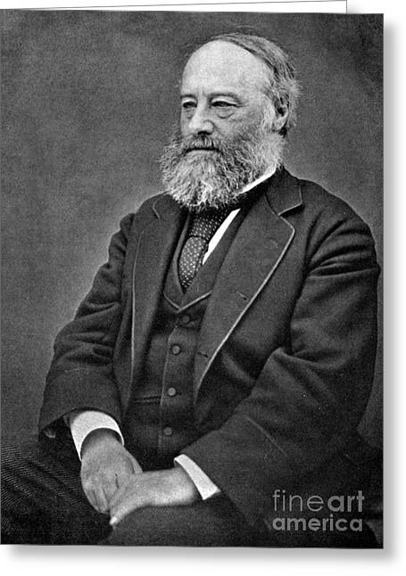 James Prescott Joule, English Physicist Greeting Card by Science Source