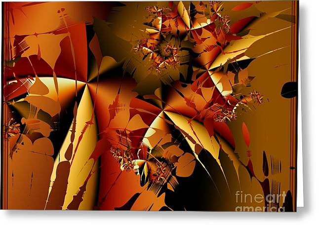Jamming In Autumn Greeting Card