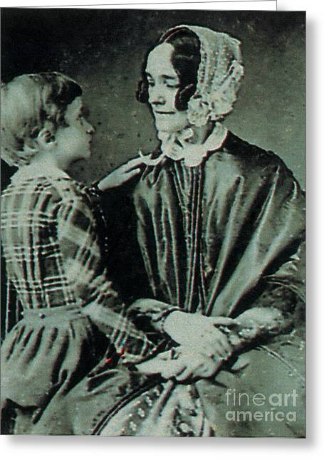 Jane Pierce Greeting Card