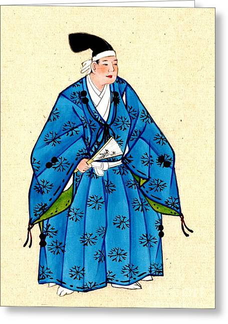 Japanese Nobleman 1878 Greeting Card by Padre Art