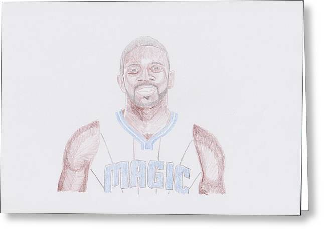 Jason Richardson Greeting Card by Toni Jaso