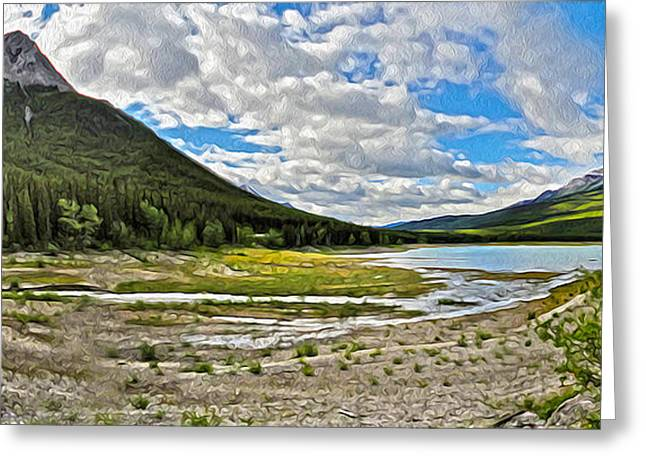 Jasper National Park - Beautiful View Greeting Card