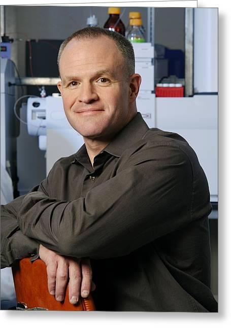 Jay Keasling, Us Scientist Greeting Card by Volker Steger