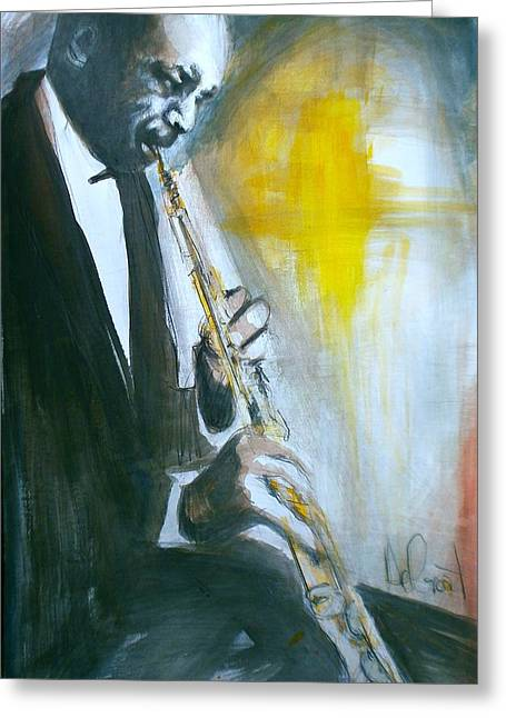 Jazz Preparation Greeting Card