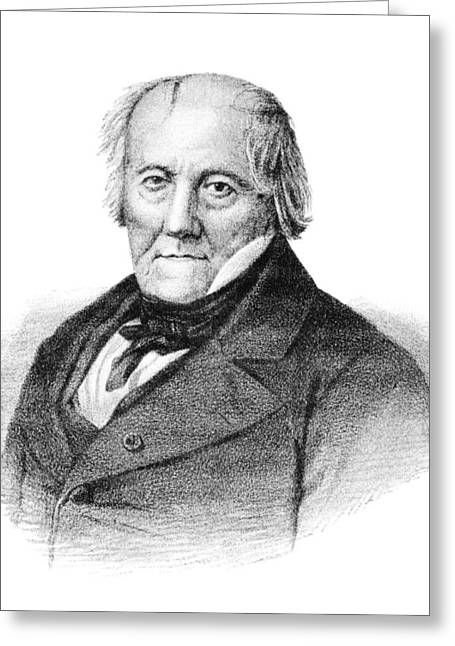 Jean Baptiste Biot, French Physicist Greeting Card by