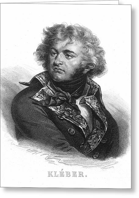 Jean-baptiste Kleber Greeting Card