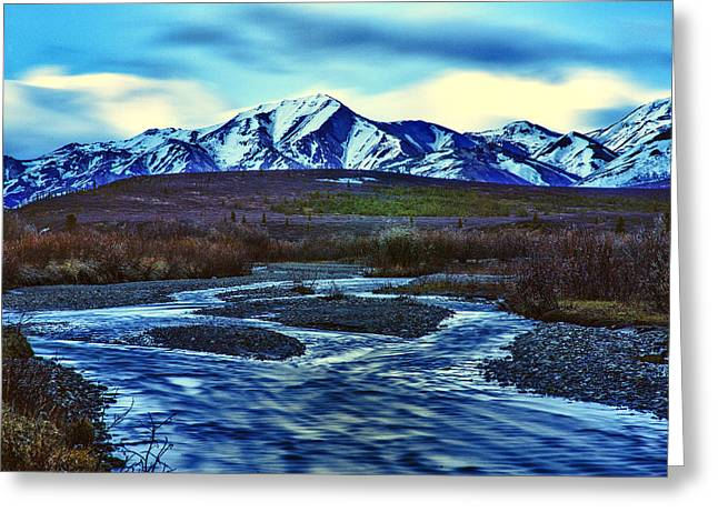 Jenny Creek Dawn Greeting Card by Rick Berk