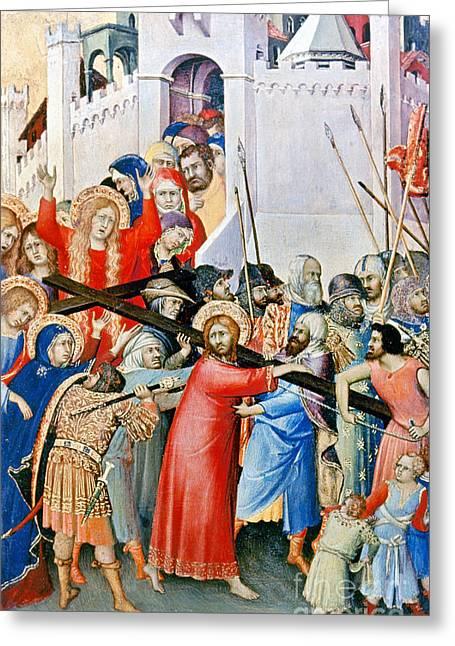 Jesus: Calvary Greeting Card by Granger