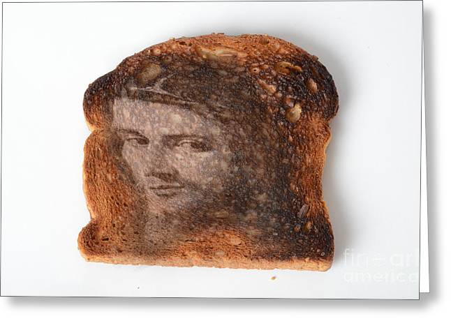 Jesus Toast Greeting Card by Photo Researchers, Inc.