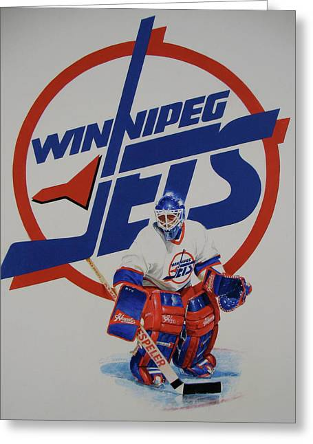 Jets Greeting Card by Cliff Spohn