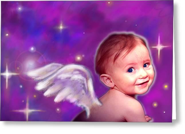 Jewell.angelic 3 Greeting Card
