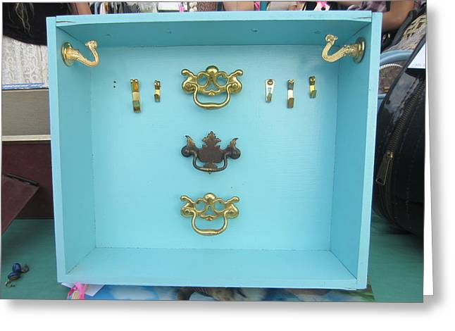 Jewelry Display 2 Greeting Card by Marianne Devine