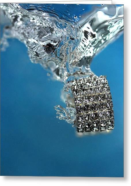 Jewelry Greeting Card by Mark Ashkenazi