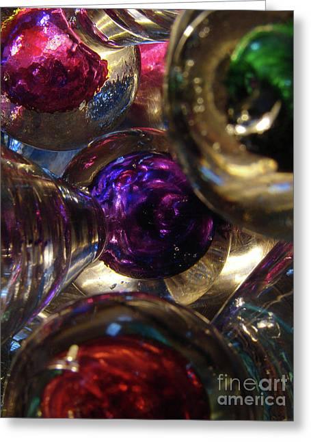 Jingle Balls Greeting Card by Mark Holbrook
